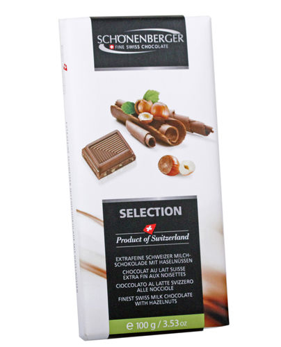 Selection Vollmilch Haselnuss 100g