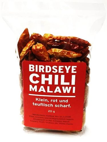 Bird's Eye Chilis Malawi 20g
