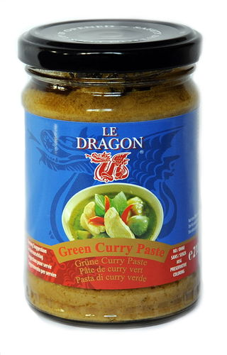Le Dragon Grüne Curry Paste 210g
