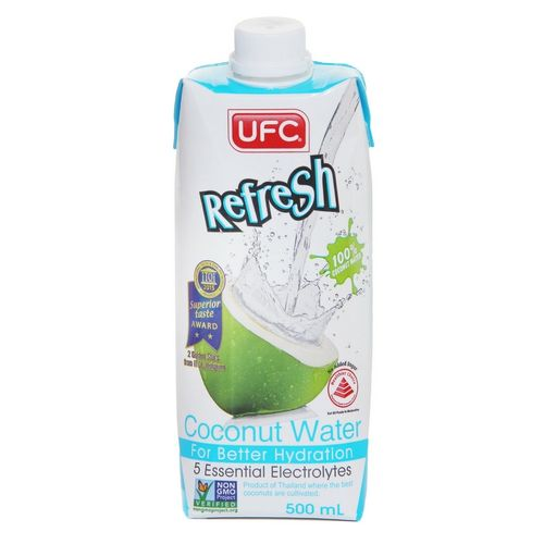UFC Refresh Coconut Water 100% 500ml