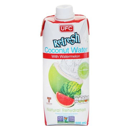 UFC Refresh Coconut Water mit Wassermelone 500ml