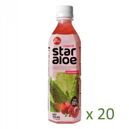 Star Aloe Granatapfel, Carton 20x500ml
