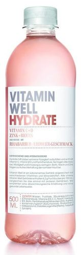 Vitamin Well Hydrate 500ml