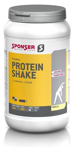 Sponser Low Carb Protein Shake Vanille 550g