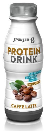 Sponser Low Carb Protein Drink Caffe Latte 330ml