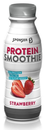 Sponser Low Carb Protein Smoothie Erdbeer 330ml