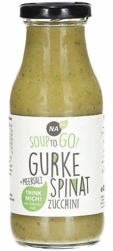 Bio Gurke-Spinat Soup-to-go 240ml