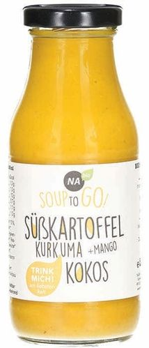 Bio Süsskartoffel-Kurkuma Soup-to-go 240ml