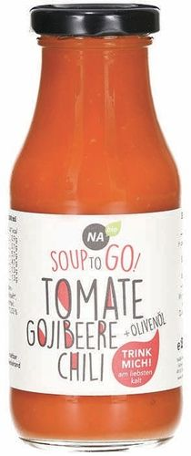 Bio Tomate-Gojibeere Soup-to-go 240ml