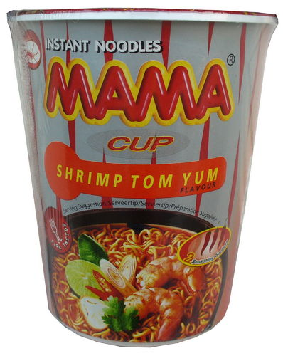 Instant Nudelsuppe Shrimps Tom Yum 70g