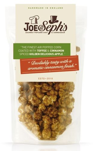 Joe & Seph's Toffee Apple Cinnamon Popcorn 80g